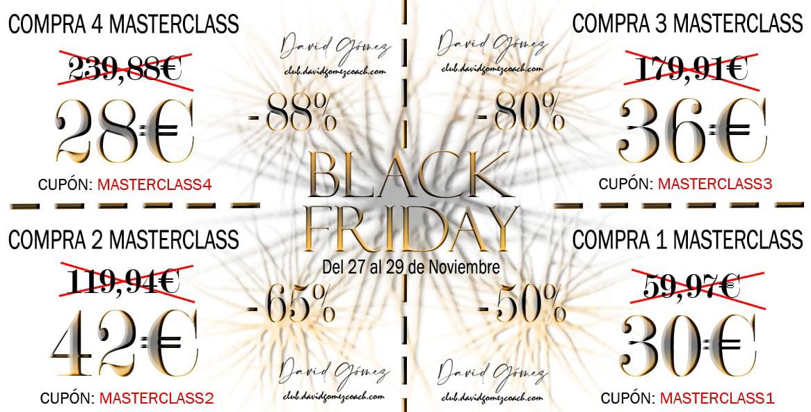 Cupones Black Friday David Gómez